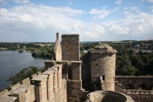 Linlithgow Aussicht vom Turm aus